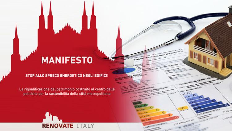 RETE IRENE E RENOVATE ITALY INSIEME PER LA RIQUALIFICAZIONE ENERGETICA DELL'ITALIA