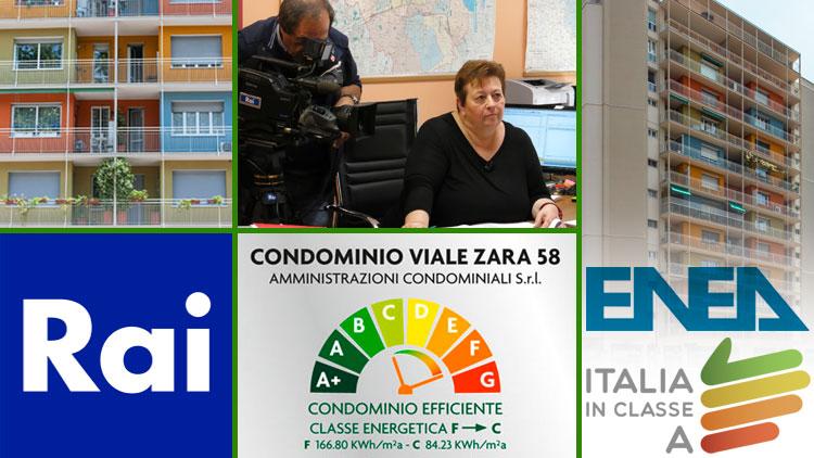 ITALIA IN CLASSE A: UN EDIFICIO RIQUALIFICATO ENERGETICAMENTE DA RETE IRENE PROTAGONISTA DELLA CAMPAGNA PER L'EFFICIENZA PROMOSSA DA ENEA E RAI