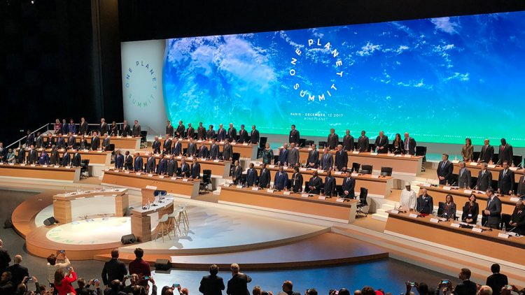 """MAKE OUR PLANET GREAT AGAIN"": IL GRIDO DEL ONE PLANET SUMMIT DI PARIGI"