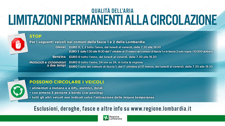 stop diesel euro 3 limitazioni permanenti