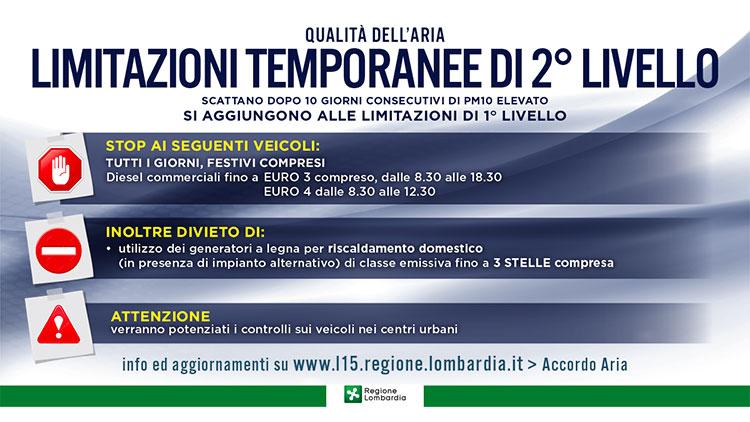 stop diesel euro 3 limitazioni temporanee 1* grado
