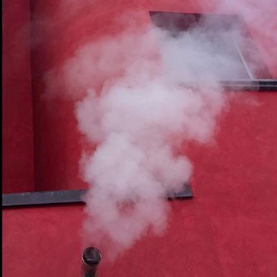 scarico fumi a parete