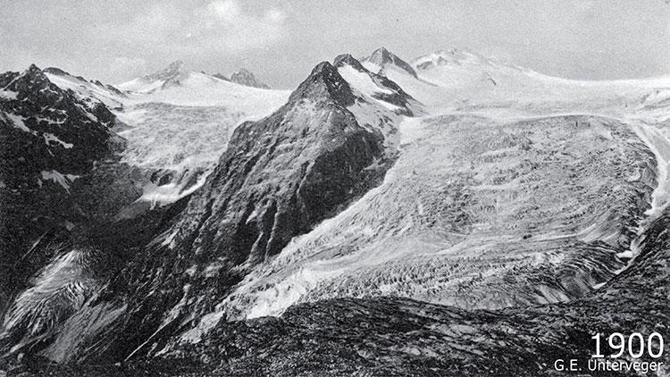 ghacciai lobbia adamello mandrone 1900