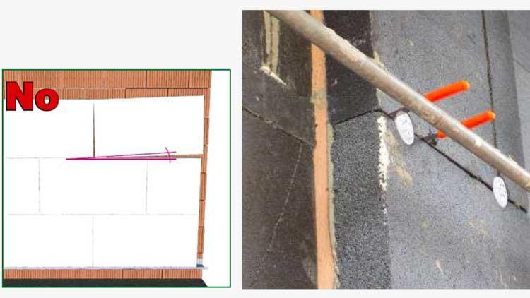 Errori di posa del cappotto termico sugli edifici