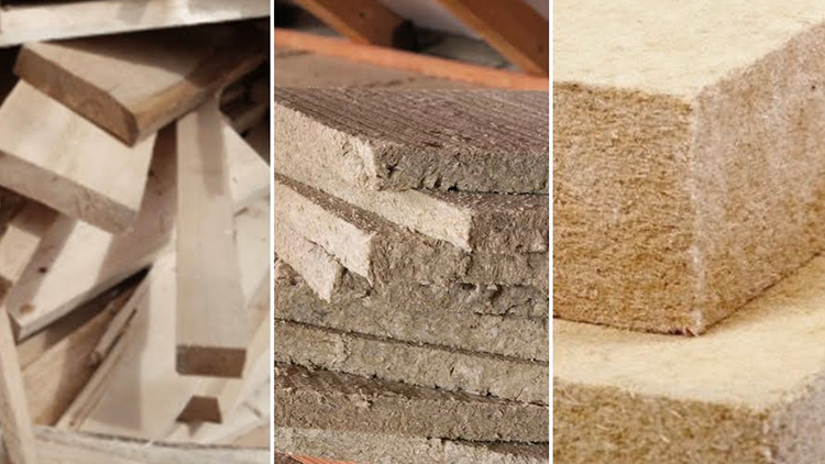 CAM materiali isolamento per l'edilizia. - Pannelli per cappotto termico in pasta di legno