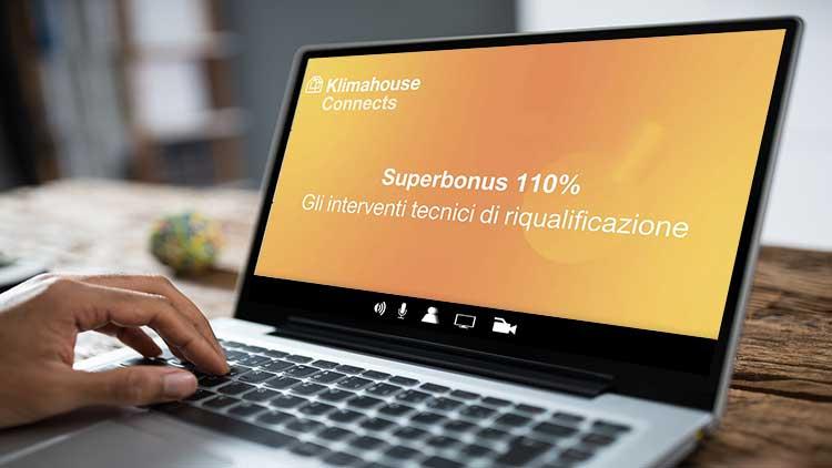 RETE IRENE AL KLIMAHOUSE CONNECTS: WEBINAR SUL NUOVO ECOBONUS