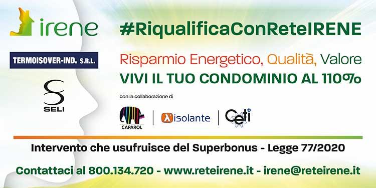 RIQUALIFICA CON RETE IRENE - FIZZONASCO