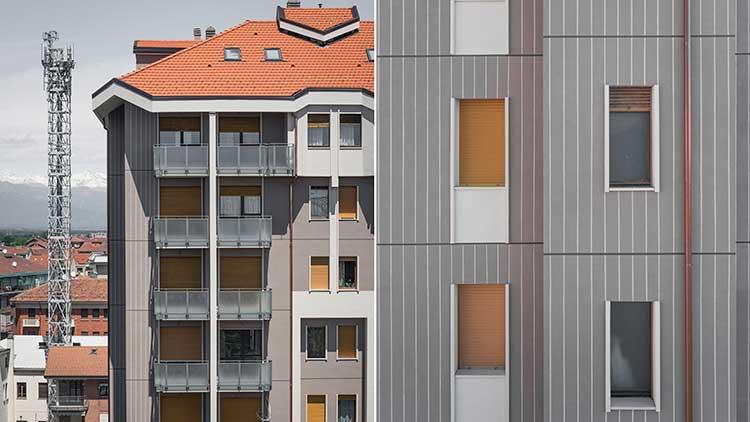 corso francia torino - facciate edificio